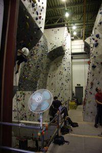 Seilklettern in der T-Wall in Edogawabashi funktioniert auch recht gut