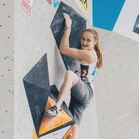 Sandra Lettner - Österreichischen Meisterin U18 im Bouldern (2018)